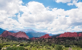 garden of the gods HDR